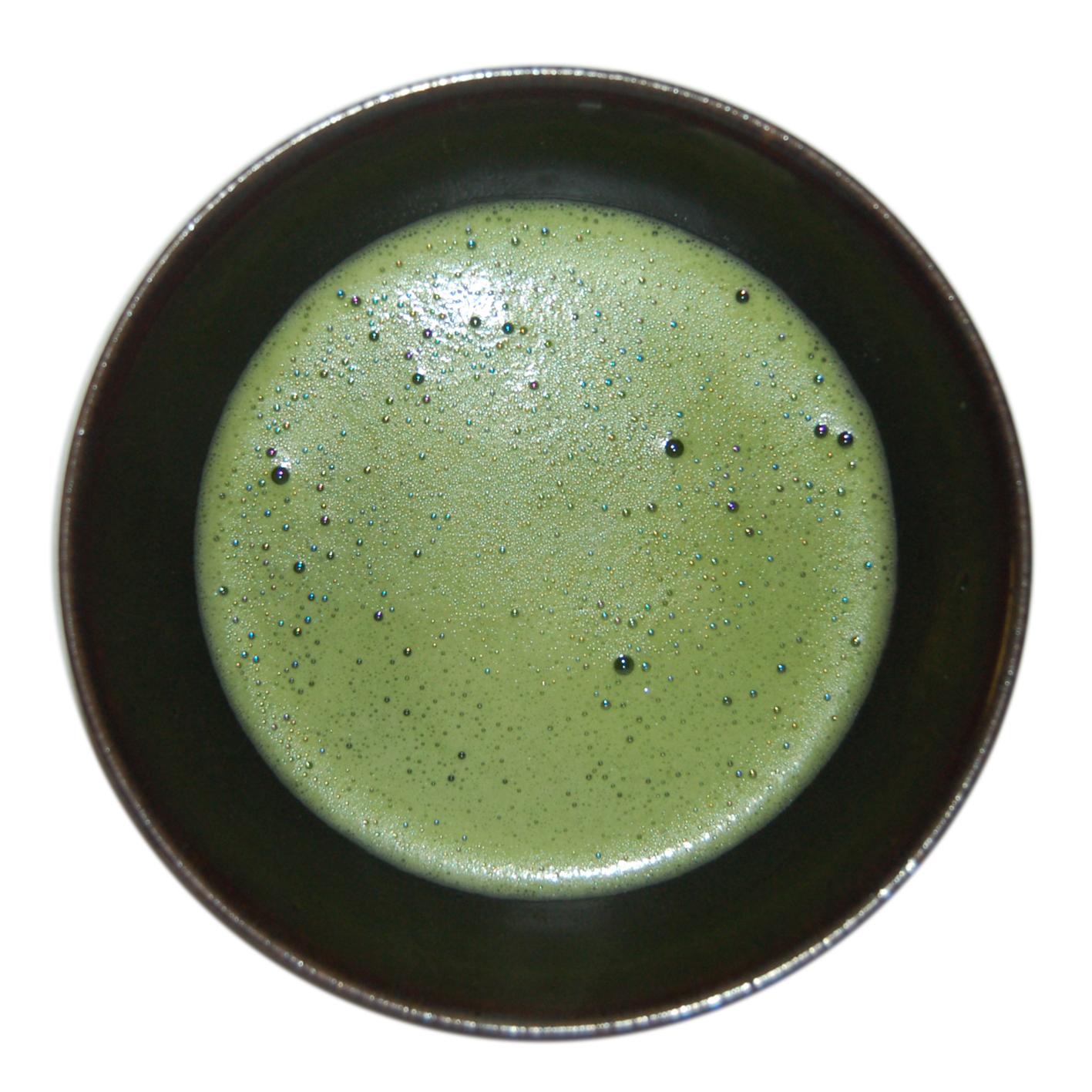 how to make green tea powder from tea bags