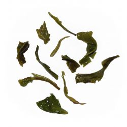 Teuksun Green Tea - wet leaf