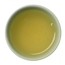 Organic Doo Mool Green Tea - steeped liquor