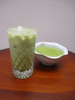 Green Tea Sweet Mix - Iced Green Tea Latte
