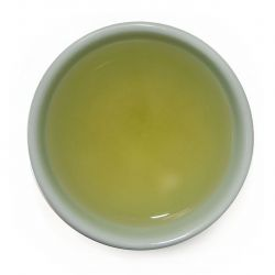 Gamnong Green Tea - steeped liquor