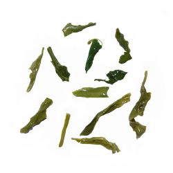 Gamnong Green Tea - wet leaf