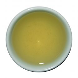 Jungsun Green Tea - steeped liquor