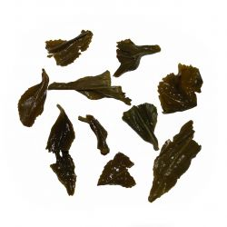 Jungsun Green Tea - wet leaf