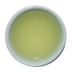 Ujeon Gamro Green Tea - steeped liquor