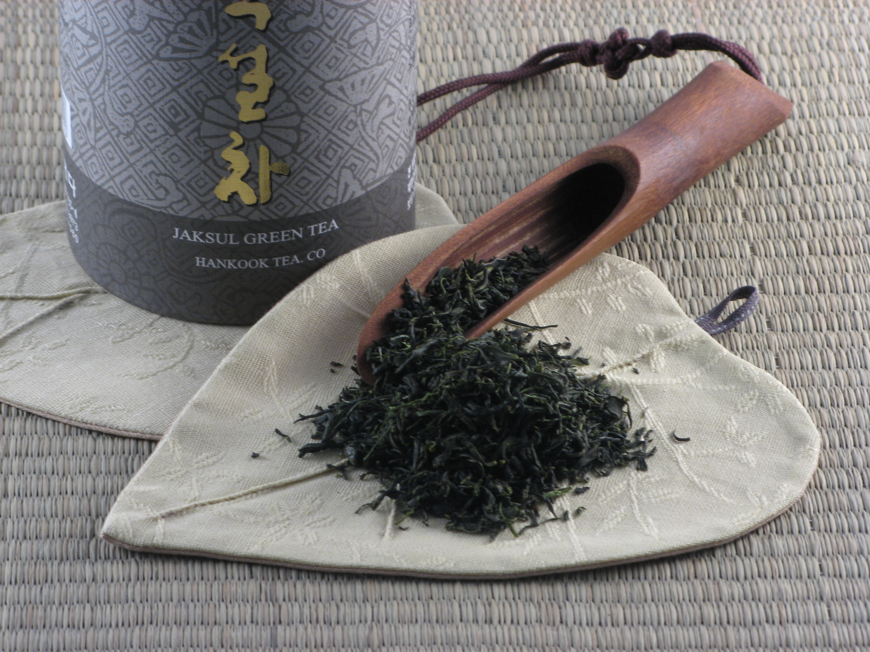 Gamnong Green Tea - retail package