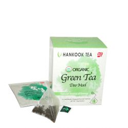 Organic Doo Mool Green Tea - retail package